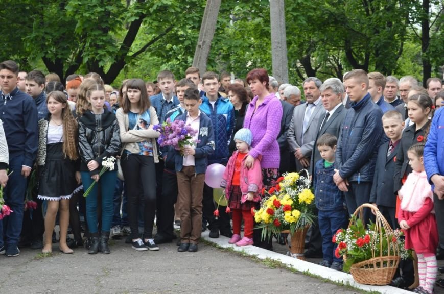 Митинг посвященный 71 летию Победы в городе Белицкое, фото-4