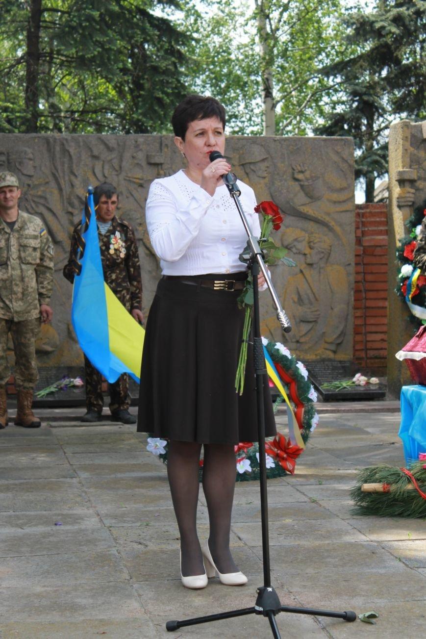 В Добропольском районе провели перезахоронение советских солдат, фото-6
