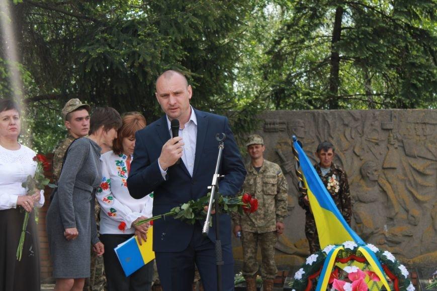 В Добропольском районе провели перезахоронение советских солдат, фото-5