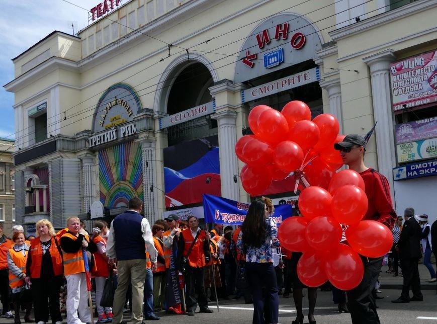 В Донецке на «праздничное» шествие в честь годовщины «ДНР» свезли тысячи людей (ФОТО), фото-2