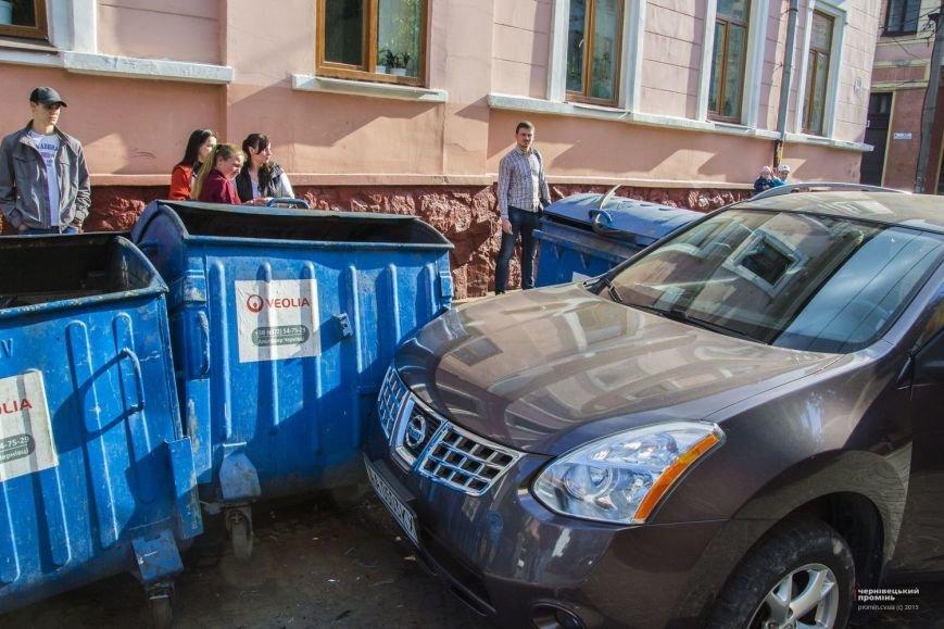 У Чернівцях жінка-водій збила бабусю(ФОТО), фото-1