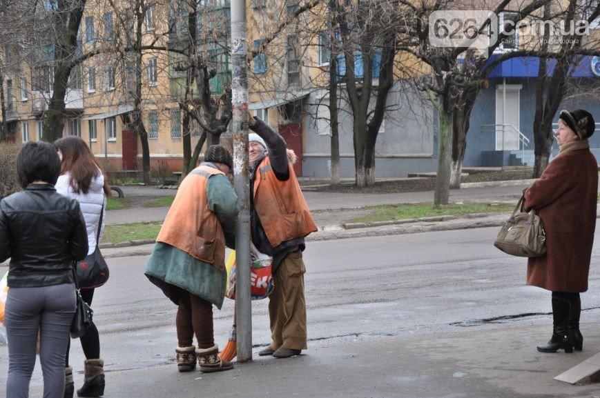 К приезду Порошенко главная транспортная артерия Краматорска будет с разметкой (ФОТО), фото-6