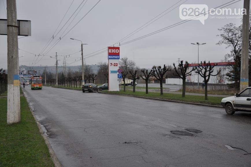 К приезду Порошенко главная транспортная артерия Краматорска будет с разметкой (ФОТО), фото-7