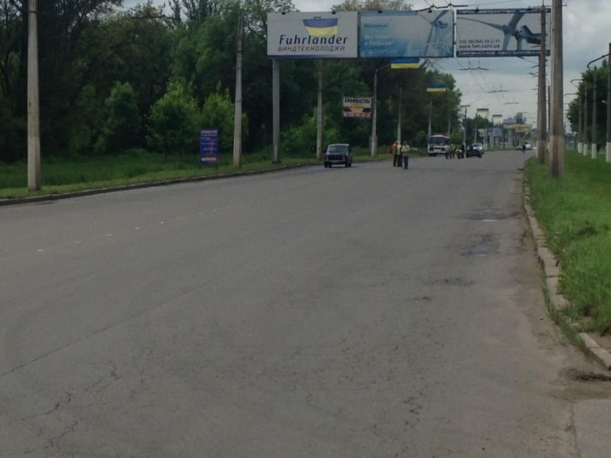 К приезду Порошенко главная транспортная артерия Краматорска будет с разметкой (ФОТО), фото-2