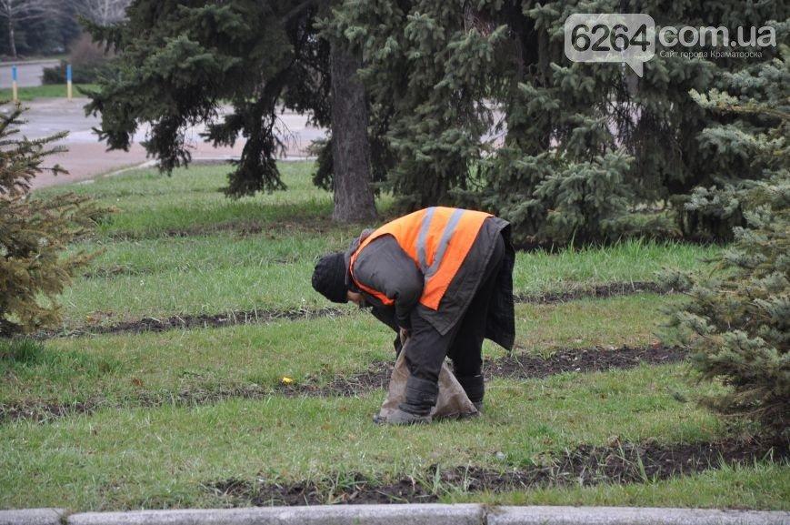 К приезду Порошенко главная транспортная артерия Краматорска будет с разметкой (ФОТО), фото-5