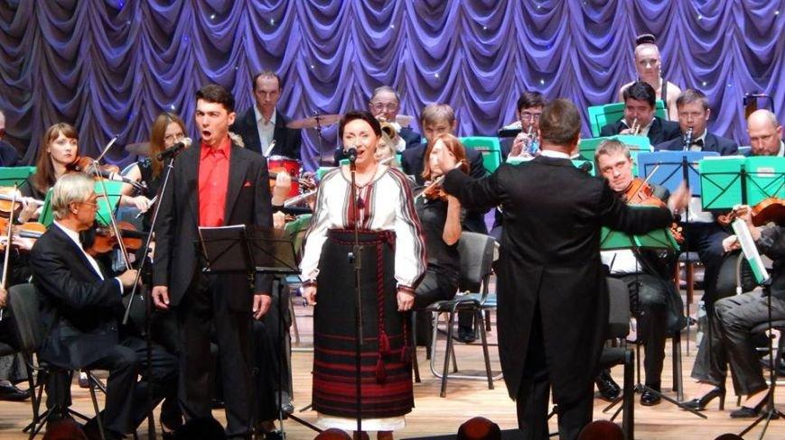 Вчера жители Бердянска побывали на чудесном концерте, фото-3