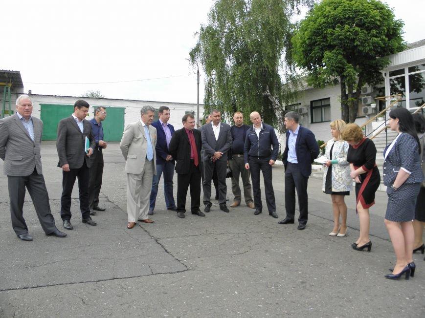 Краматорские депутаты посетили предприятие по вывозу мусора, фото-1