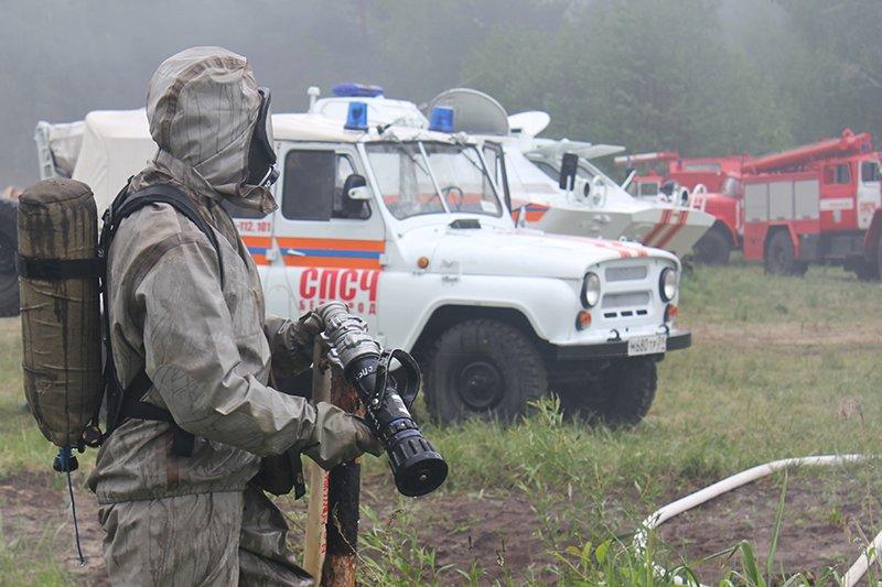 Учения МЧС под Белгородом. Комплексная безопасность, фото-8