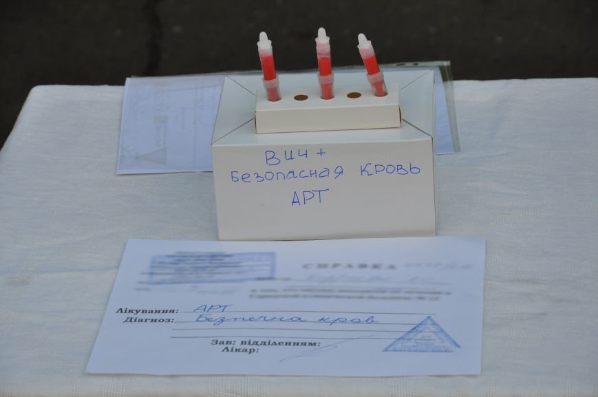 Чиновникам облздрава в Краматорске принесли безопасную кровь, фото-2