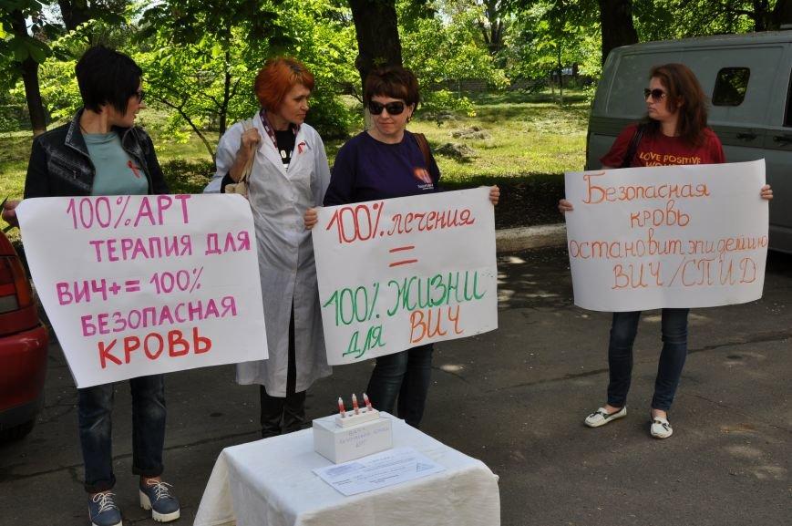 Чиновникам облздрава в Краматорске принесли безопасную кровь, фото-1