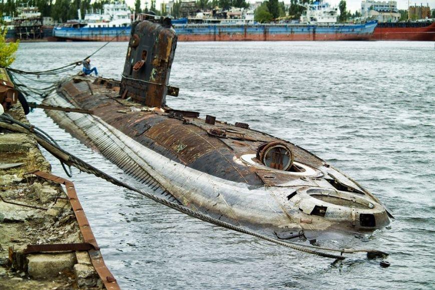 В Херсоне хотят сделать Морской музей в подводной лодке (фото), фото-2