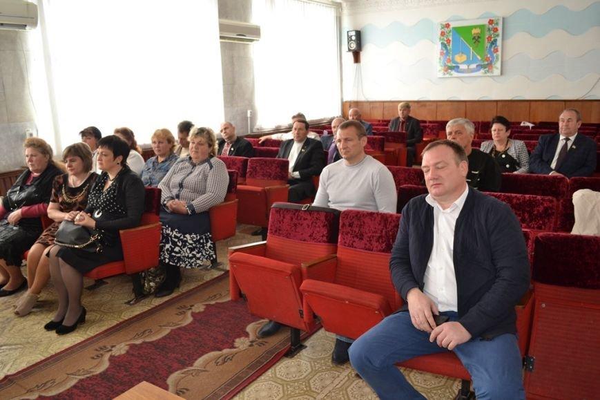 Новый глава Добропольской РГА провел встречу с депутатами районного совета, фото-1