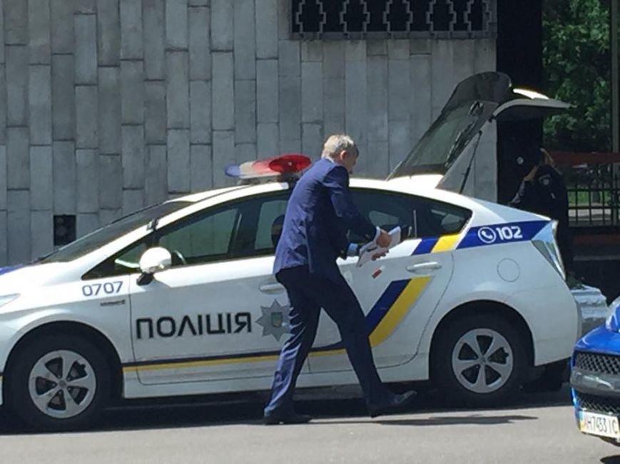 В Киеве оштрафовали министра за парковку в неположенном месте (ФОТО), фото-1