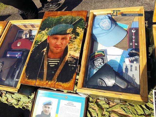 На кладбище под Запорожьем почтили память неизвестных бойцов, погибших  в зоне АТО, фото-8