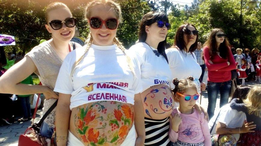 В Покровском сквере прошел парад беременных (фото), фото-3
