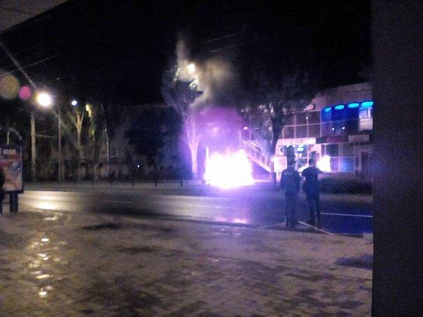 В центре Донецка взорвался автомобиль (ФОТО), фото-2