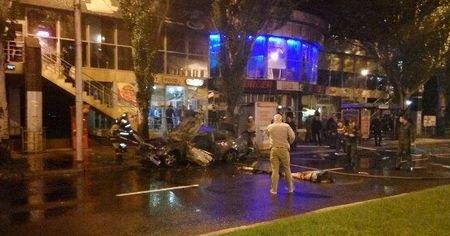 В центре Донецка взорвался автомобиль (ФОТО), фото-3