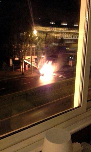 В центре Донецка взорвался автомобиль (ФОТО), фото-1