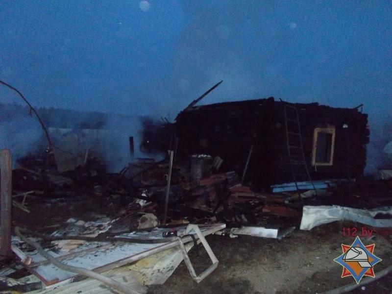Трое жителей Новополоцка погибли на пожаре в Полоцком районе, фото-2