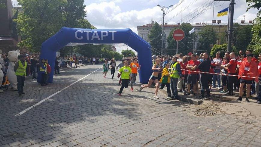 У Чернівцях сьогодні відбувся традиційний «Біг Миру», фото-1