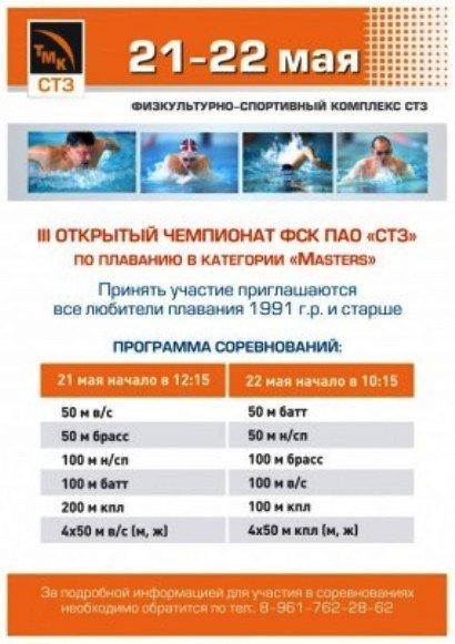 афиша по плаванию