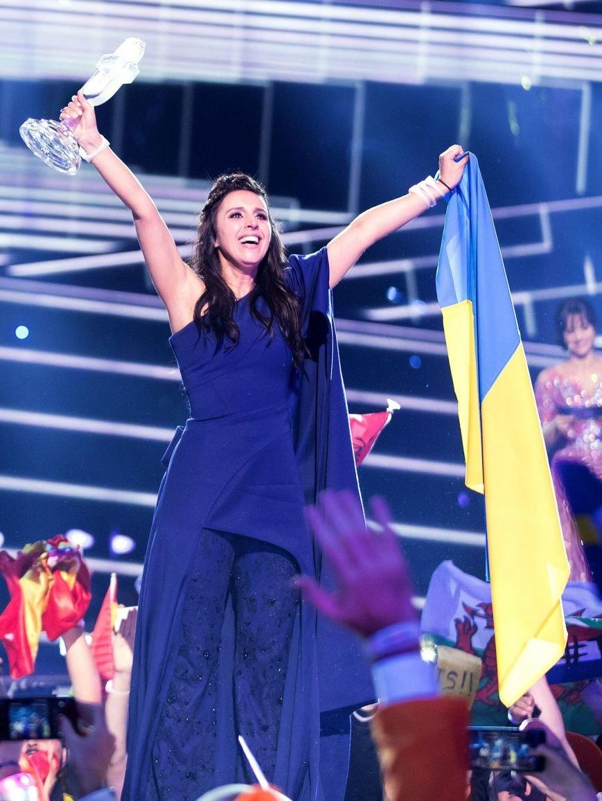 Бахмутчане поздравляют Джамалу с победой на Евровидении, фото-2