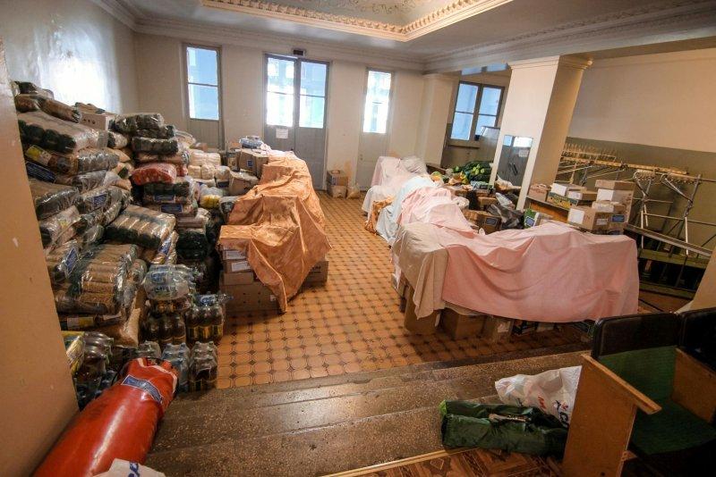 Сила в единстве: переселенцы Бахмута получили гуманитарную помощь из столицы, фото-3