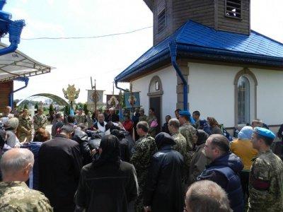 На Буковині похоронили, загиблого в АТО бійця(ФОТО), фото-1