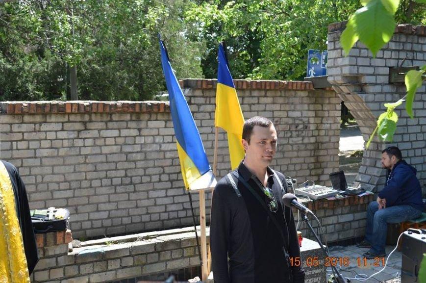 В Бердянске общественность отметила День жертв политических репрессий, фото-9