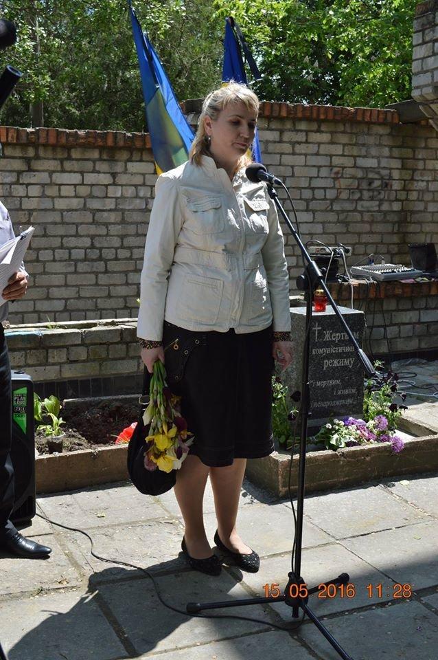 В Бердянске общественность отметила День жертв политических репрессий, фото-14