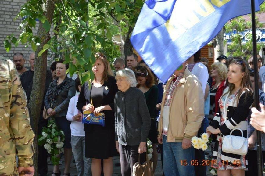 В Бердянске общественность отметила День жертв политических репрессий, фото-19