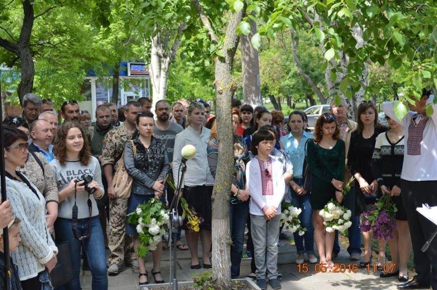 В Бердянске общественность отметила День жертв политических репрессий, фото-2