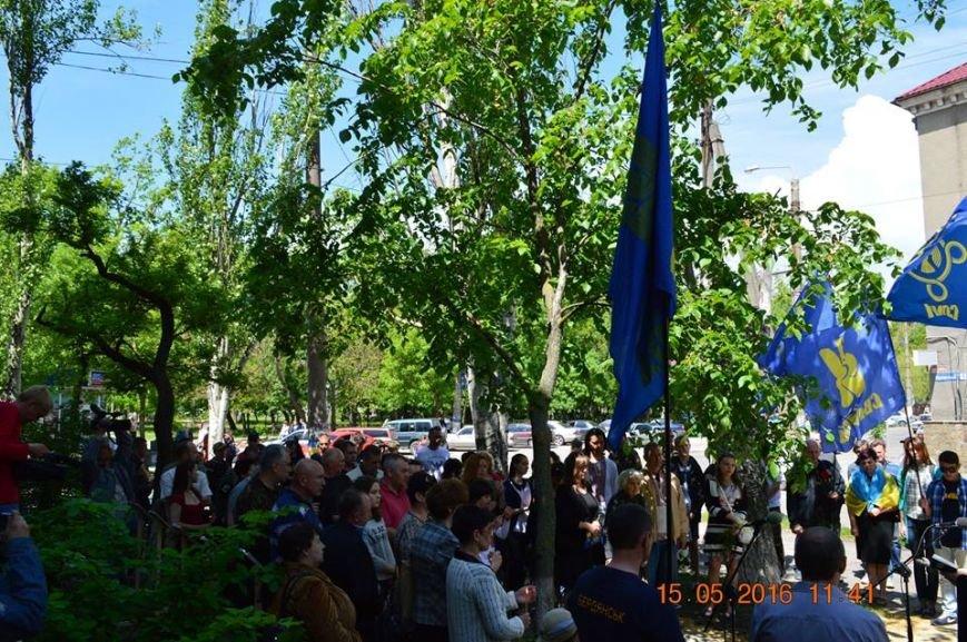 В Бердянске общественность отметила День жертв политических репрессий, фото-20