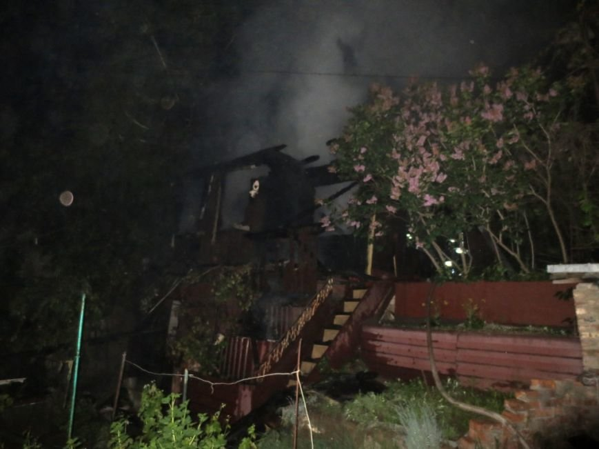 В Чернигове пожар уничтожил дачный домик, фото-2