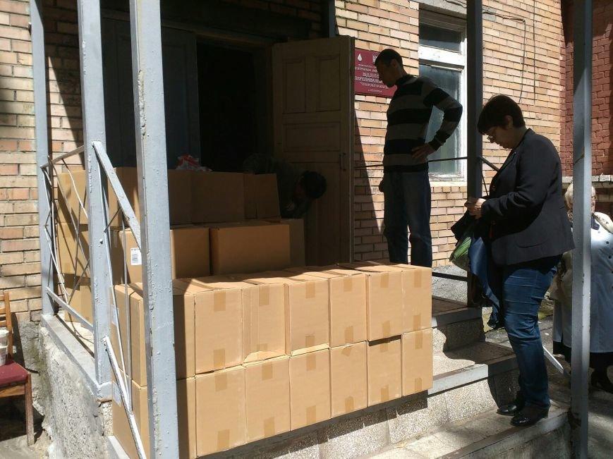 В Бахмут привезли очередной груз гуманитарной помощи, фото-2