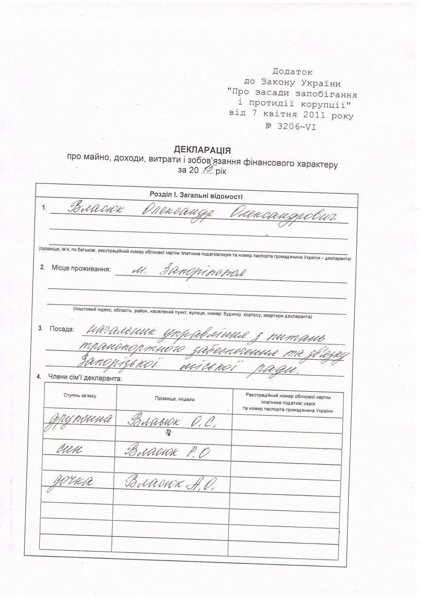 Новый начальник управления транспорта попал в ДТП и получил крупную компенсацию (декларация), фото-1