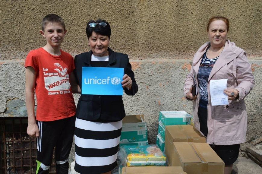 ЮНИСЕФ привез в Краматорск средства ухода за детьми, фото-1