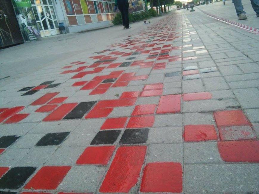 В Сумах начали реставрировать «тротуарную вышиванку» (ФОТО), фото-2