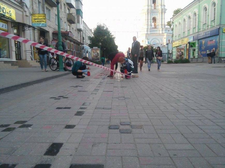 В Сумах начали реставрировать «тротуарную вышиванку» (ФОТО), фото-1