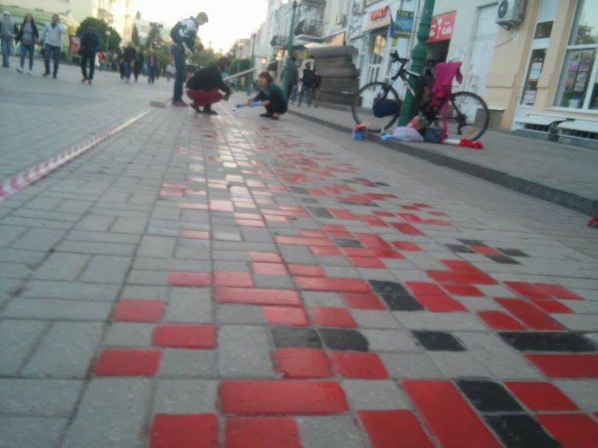 В Сумах начали реставрировать «тротуарную вышиванку» (ФОТО), фото-3