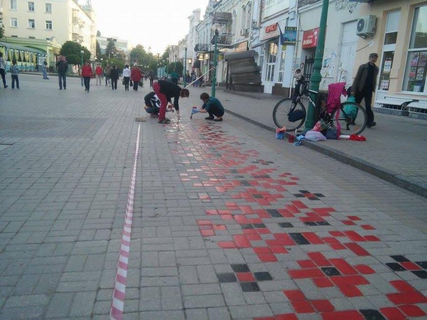 В Сумах начали реставрировать «тротуарную вышиванку» (ФОТО), фото-4