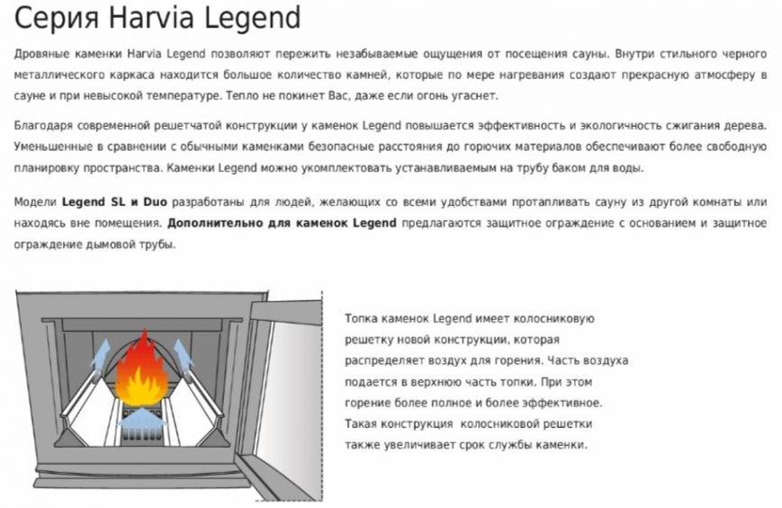 harvia-legend