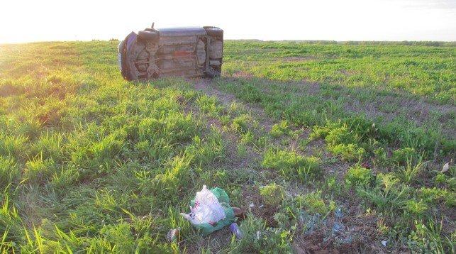 В Верхнедвинском районе Toyota вылетела в кювет и перевернулась: 29-летняя женщина умерла в больнице, фото-1
