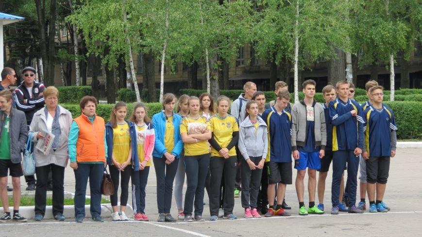 В Покровске состоялся легкоатлетический забег, приуроченный ко Дню Европы и Олимпийскому дню, фото-2