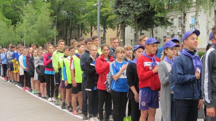 В Покровске состоялся легкоатлетический забег, приуроченный ко Дню Европы и Олимпийскому дню, фото-5