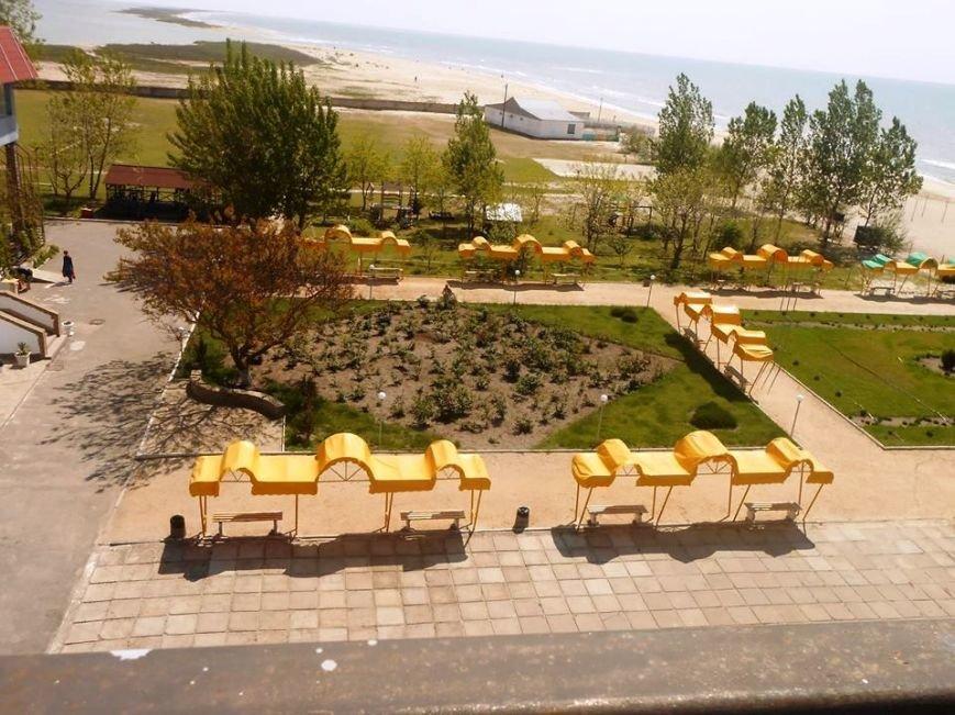 """Участники АТО будут лечиться и отдыхать в санатории """"Чайка"""" в Лазурном (фото), фото-1"""