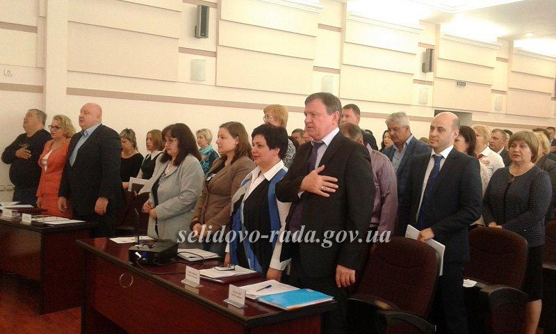 Селидовский городской голова был награжден за ремонт автодорог, фото-1