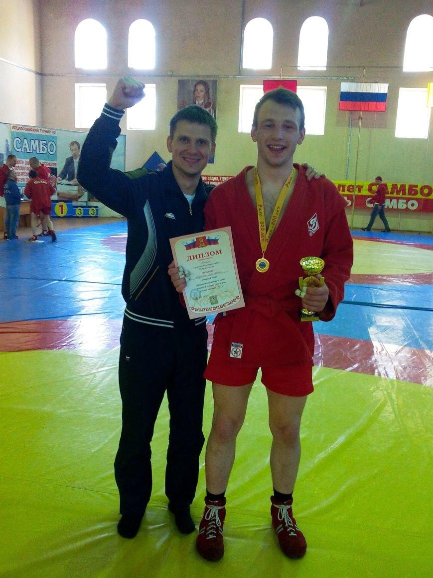 Михаил Андреев с тренеров Виктором Худяковым