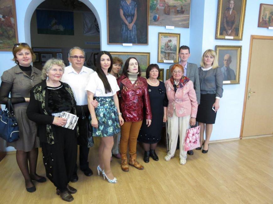 В Бердянском музее истории города отметили юбилей Людвига Годлевского, фото-10