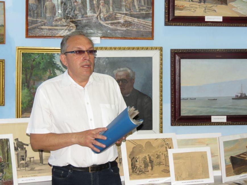 В Бердянском музее истории города отметили юбилей Людвига Годлевского, фото-9
